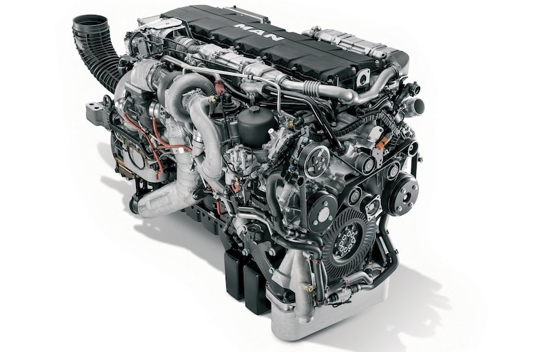 MAN D3876 15.2L I-6 Diesel Engine - Torque