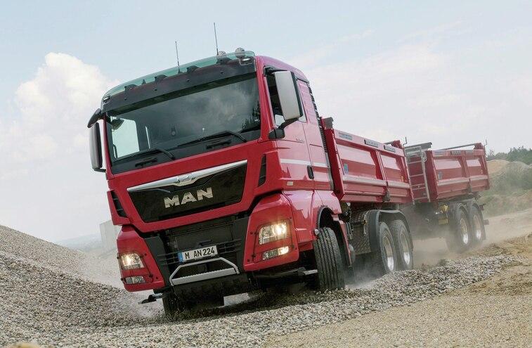 Man Tgx 26 520 6 X 4 Truck