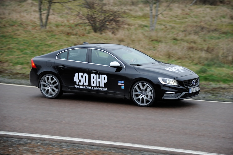 Volvo S60 High Performance Drive E Powertrain Concept Side