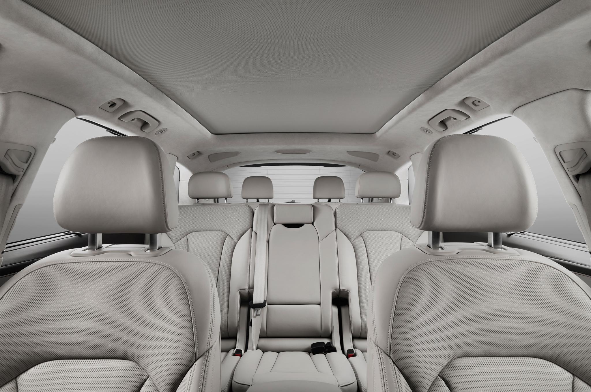 Camioneta Audi Q7 Interior