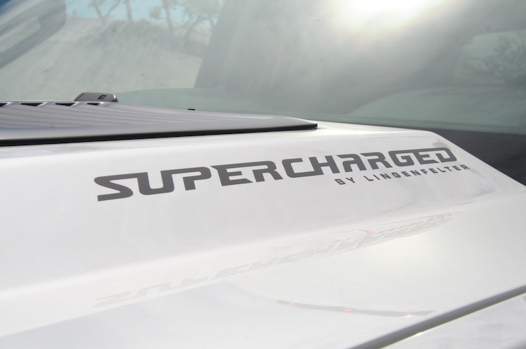 2014 Chevrolet Silverado Reaper Hood View