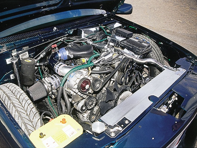 1997 Chevrolet Tahoe engine Bay View