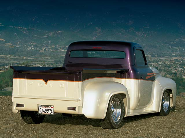 1955 Ford F-100 - Modern-Day Magic Photo & Image Gallery