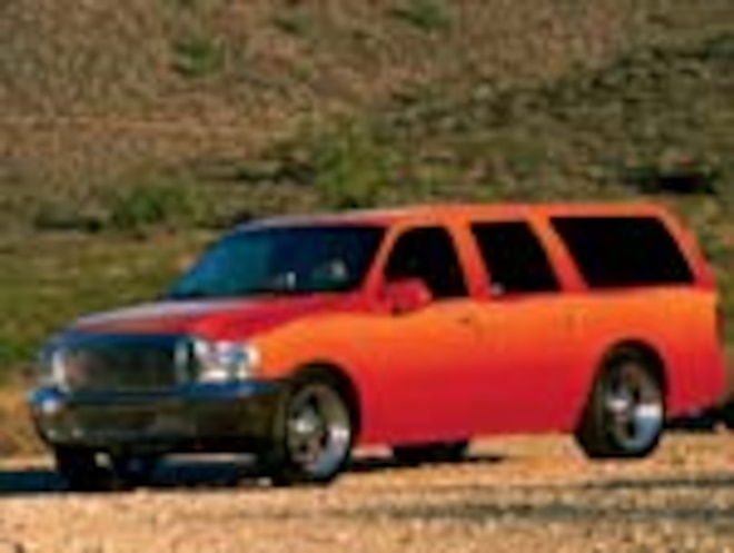 2002 Ford Excursion - Tequila Sunrise