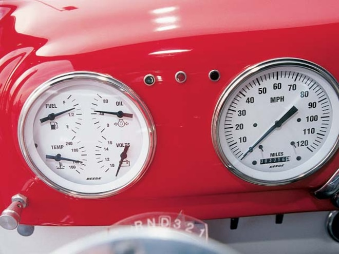1952 Ford F1 Pickup gauge View