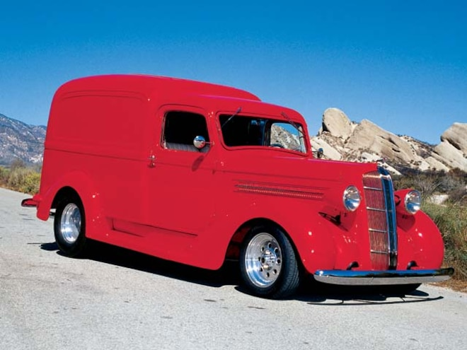 1936 Dodge Humpback front Side View