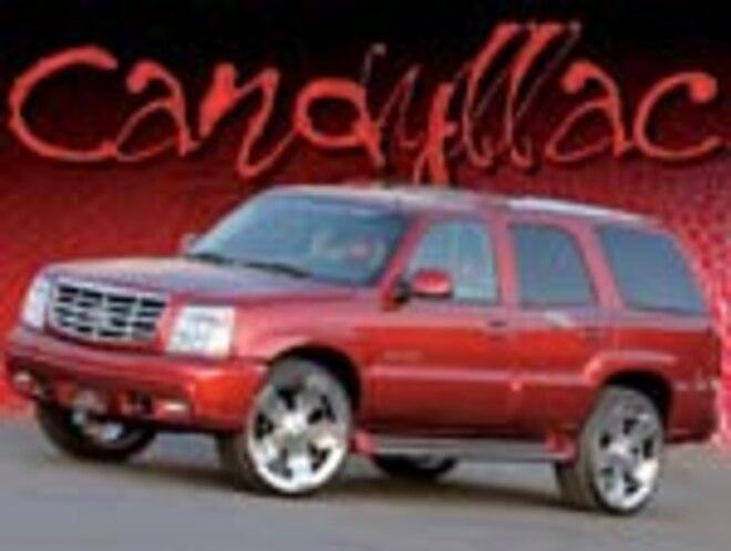 2003 cadillac escalade custom suv truckin magazine truck trend