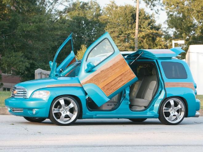 Custom Chevrolet Hhr Feature Truck Truckin Magazine