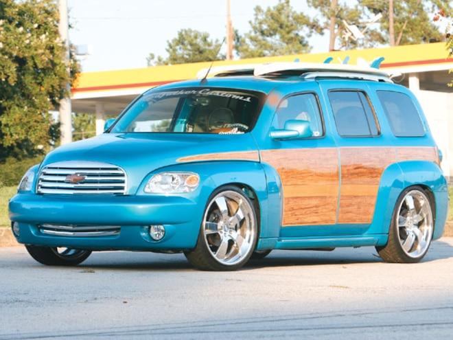 chevy hhr custom wheels