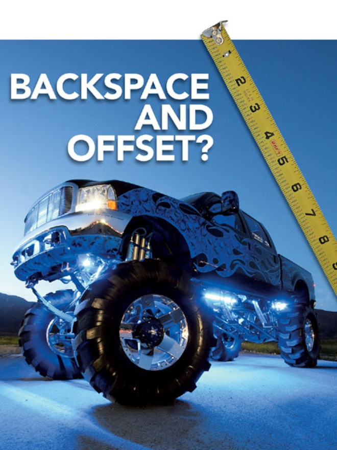 Backspace To Offset >> What is Wheel Offset & Backspace - Truck Wheel Sizes ...