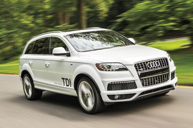 Audi Combining Diesel and Electrons for Next Q7 Plug-In