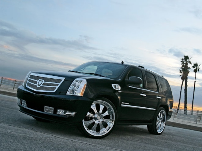 tahoe To Escalade Conversion front View