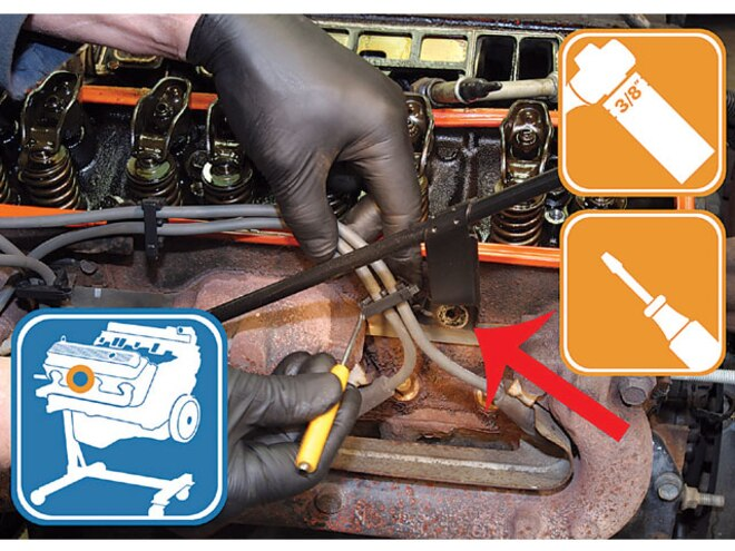 1996 Chevy Truck removing Dipstick Tube