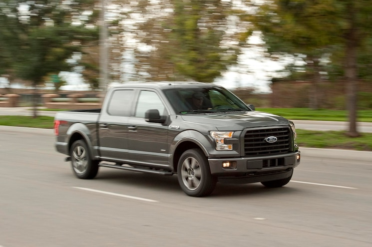 2015 Ford F150 Payload