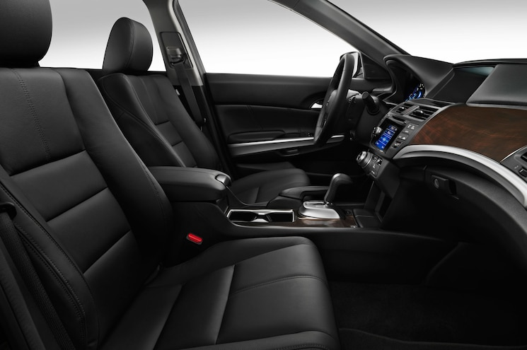 2015 Honda Crosstour EX L Front Seats