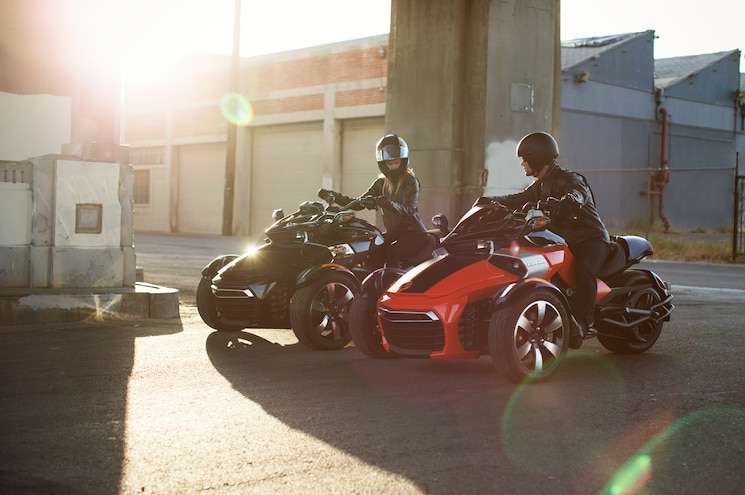2015 Can Am Spyder F3 S Front Three Quarter Ride 02