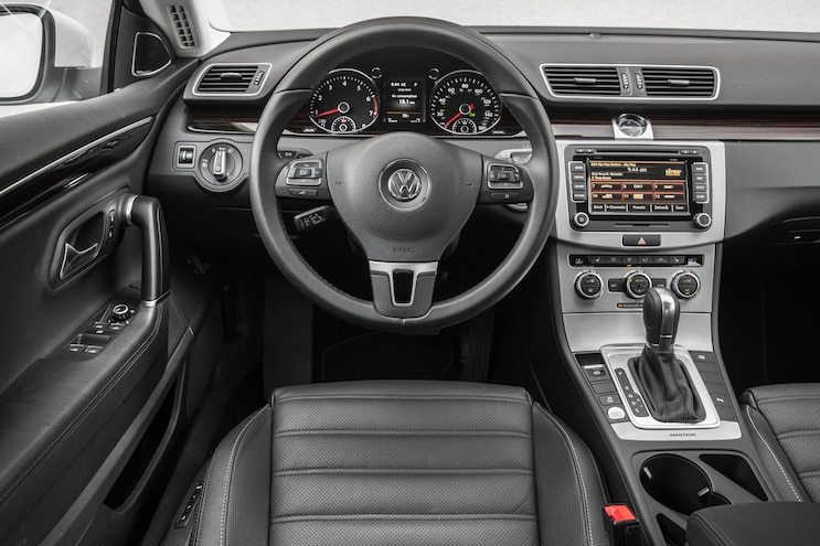 2015 Volkswagen CC 36 4Motion Cockpit