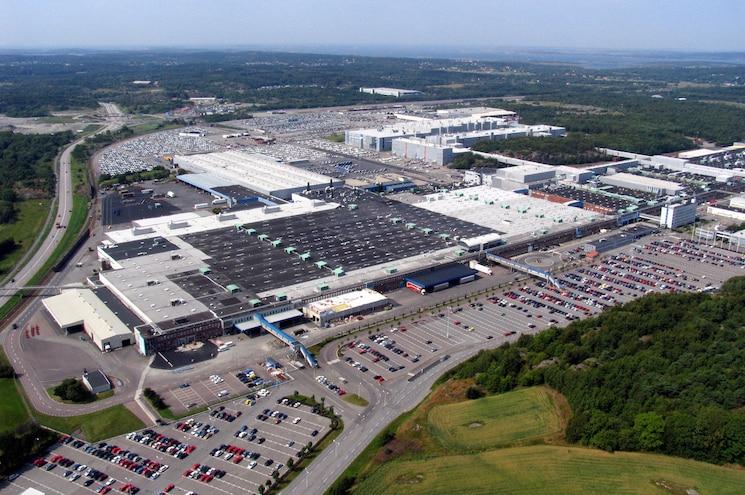 Volvo Torslanda Plant Aerial Photo