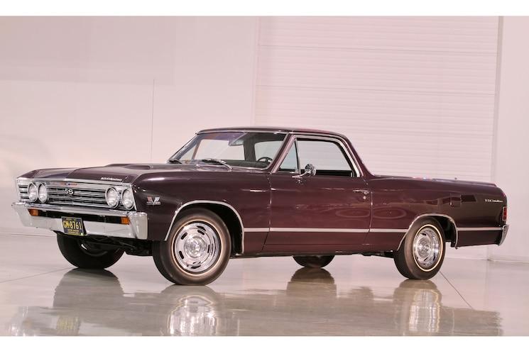 1967 Chevrolet El Camino Ss Front Angle