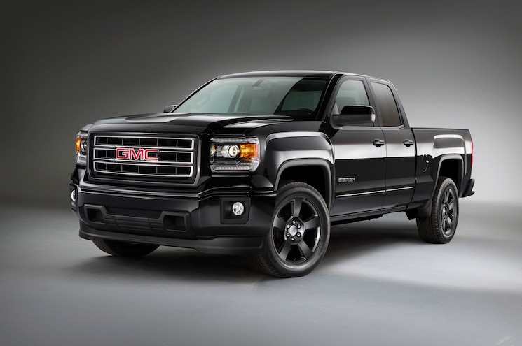 2015 Gmc Sierra 1500 Elevation Left Front Angle
