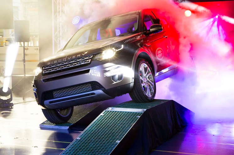 First Production Land Rover Discovery Sport Built at Halewood