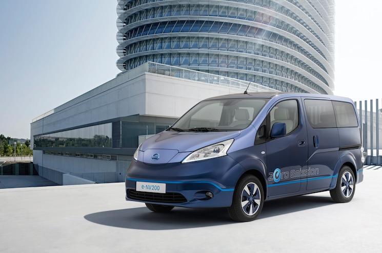 Nissan e-NV200 VIP Concept Features Executive-Worthy Interior