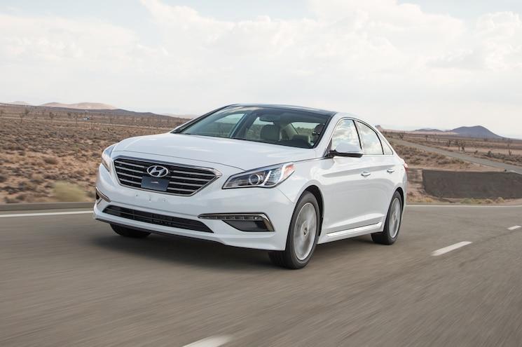 2015 Hyundai Sonata Limited 2.4 First Test