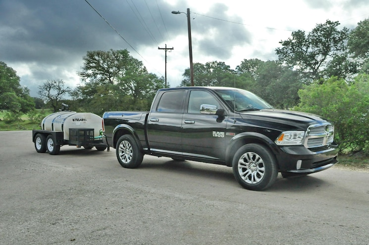 2015 Ram 2500 Side With Trailer