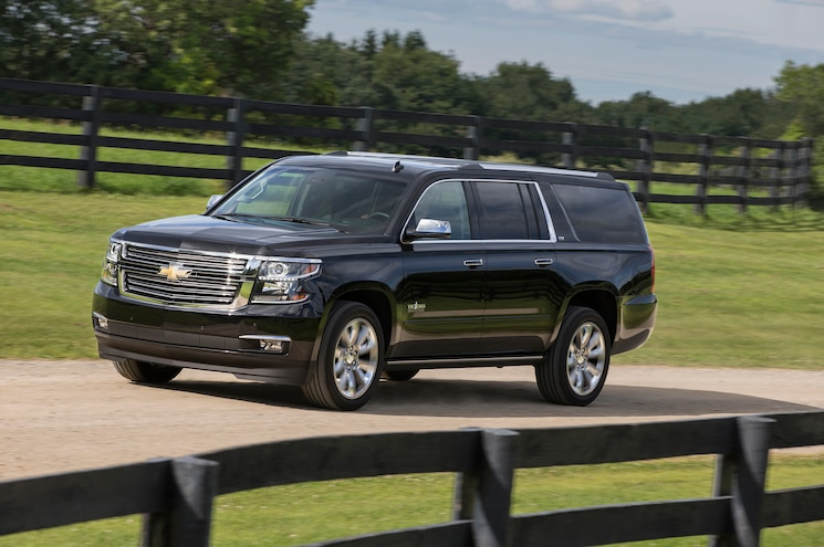 2015 Chevrolet Suburban Texas Edition Front Three Quarter View