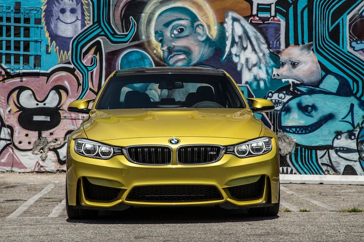 2015 BMW M3 Front End