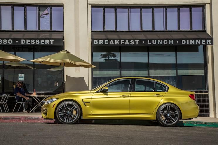 2015 BMW M3 Side Profile