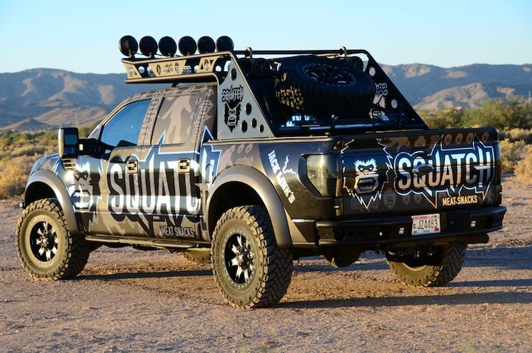 2012 Ford F 150 Raptor SVT Rear View