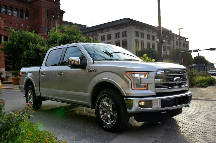 2015 Ford F 150 16 Front Three Quarter