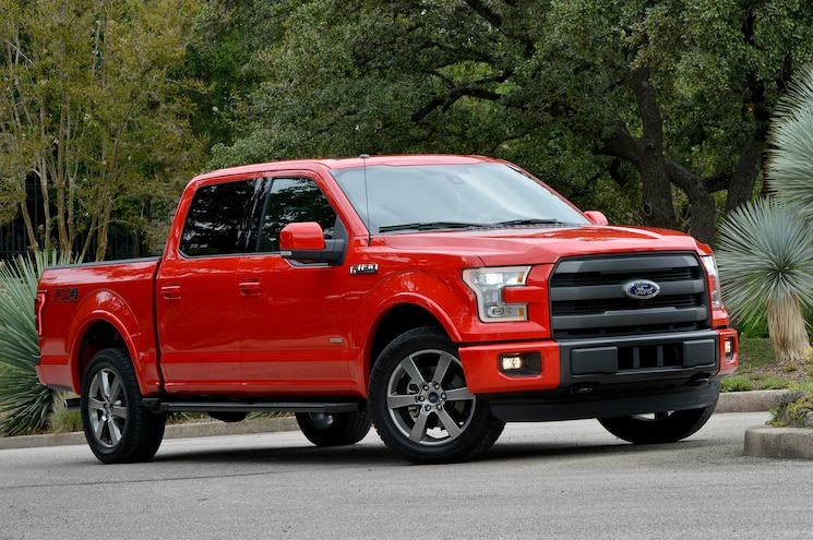 2015 Ford F 150 18 Front Three Quarter