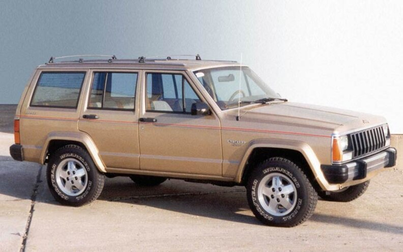 1984 Jeep Cherokee front View