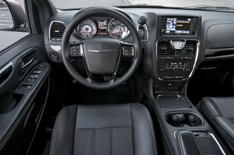 2014 Chrysler Town And Country Cockpit