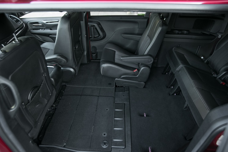 2014 Chrysler Town And Country Rear Interior