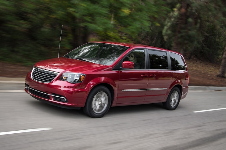 2014 Chrysler Town & Country S First Test