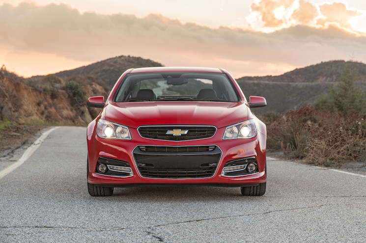 2015 Chevrolet SS Manual Front End