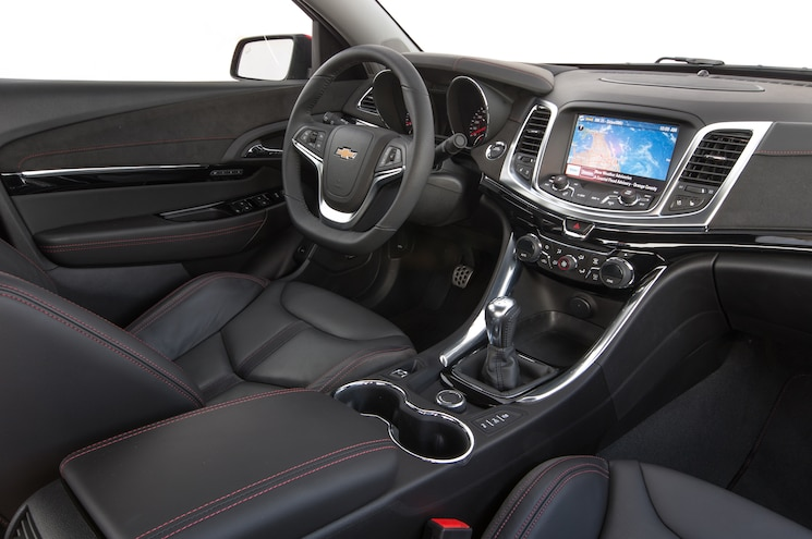 2015 Chevrolet SS Manual Interior
