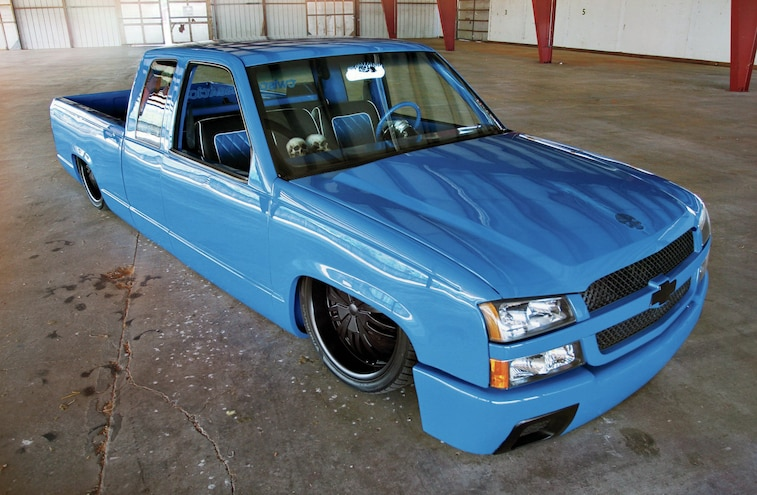 Bagged 1994 Chevy 1500