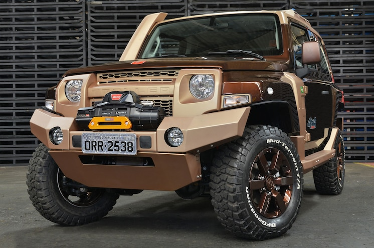 Ford to Reveal Two Special-Edition Troller SUVs in Sao Paulo