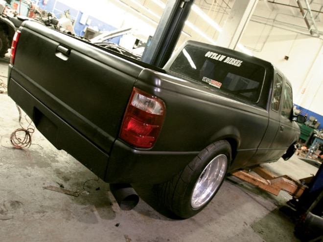1997 Ford Ranger rear View