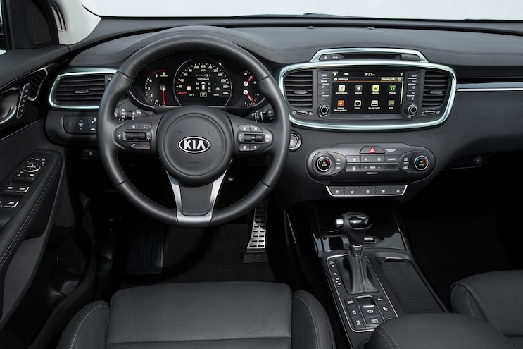 2016 Kia Sorento European Spec Cockpit