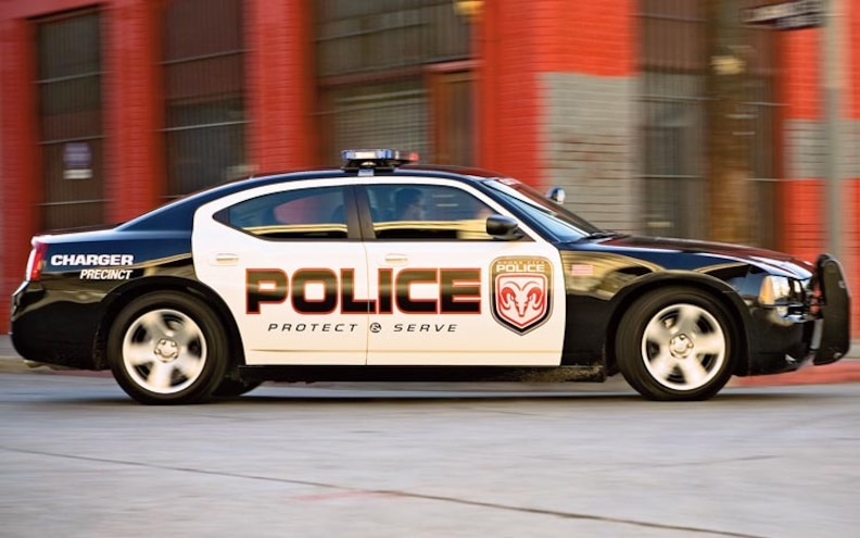 2007 Dodge Charger Police Vehicle side View