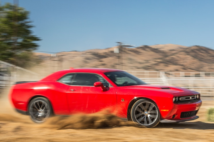 2015 Dodge Challenger RT Scat Pack Side In Motion