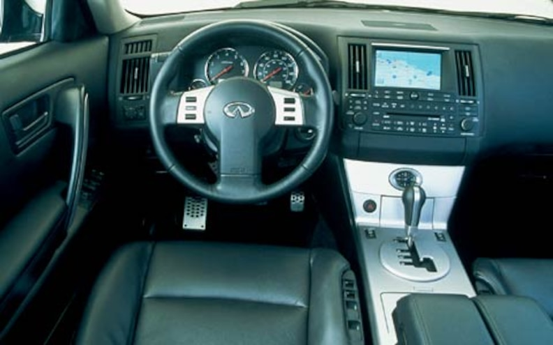 2004 Infiniti Fx45 dashboard View