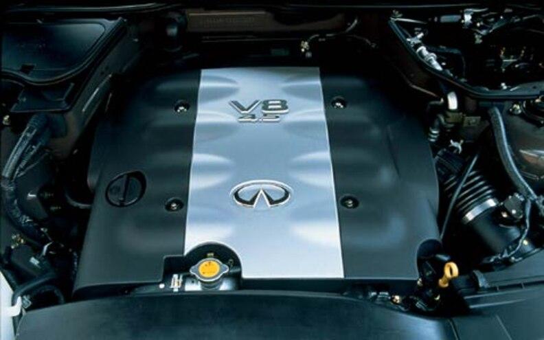 2004 Infiniti Fx45 top Engine View