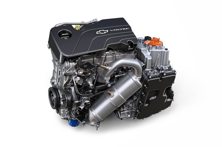 2016 Chevrolet Volt Drive Unit And Range Extender
