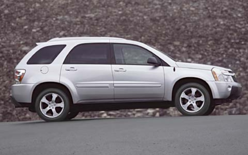 2005 Chevrolet Equinox First Drive Road Test Review Truck Trend